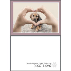 Dog Speak Loving Card - There is Love | Singpet.Com