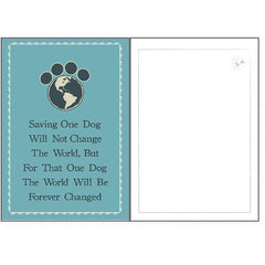 Dog Speak Rescue Card - Saving One Dog | Singpet.Com