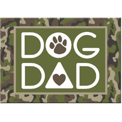 Dog Speak Standard Magnet - Dog Dad | Singpet.Com