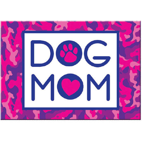 Dog Speak Standard Magnet - Dog Mom | Singpet.Com
