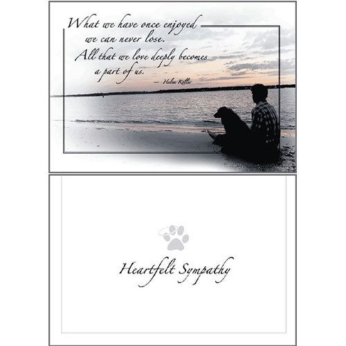 Dog Speak Sympathy Card - What We Have... | Singpet.Com