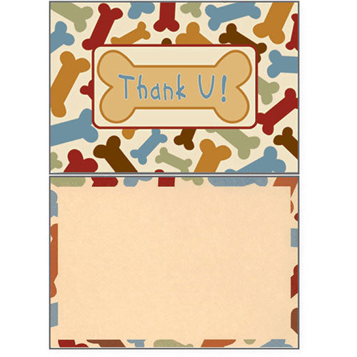 Dog Speak Thank You Card - Blank | Singpet.Com