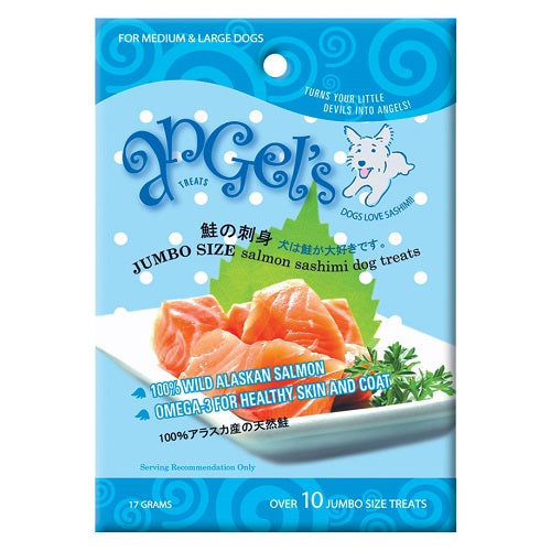 Addiction Angels Salmon Sashimi Dog Treats - Jumbo | Singpet.COM