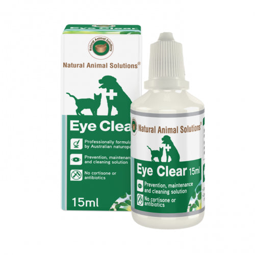 Natural Animal Solutions Eye Clear Drops | Singpet.COM