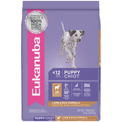 Eukanuba Puppy Lamb & Rice Dry Dog Food For All Breeds | Singpet.Com