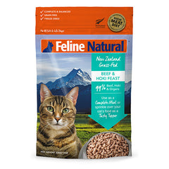 Feline Natural Freeze Dried Beef and Hoki Feast Cat Food