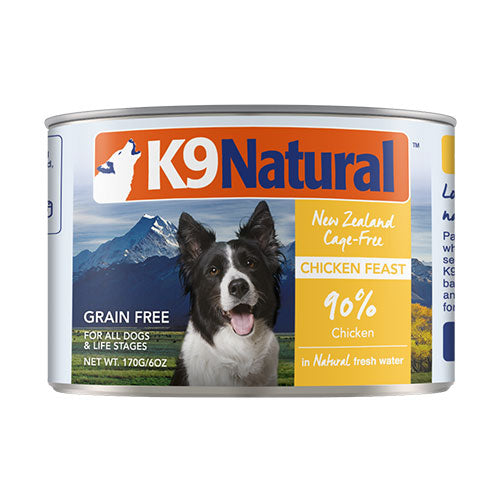 K9 Natural Chicken Feast Canned Dog Food | Singpet.Com