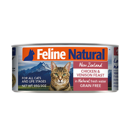 Feline Natural Chicken and Venison Feast Canned Cat Food | Singpet.Com