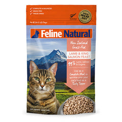 Feline Natural Freeze Dried Lamb and King Salmon Feast Cat Food