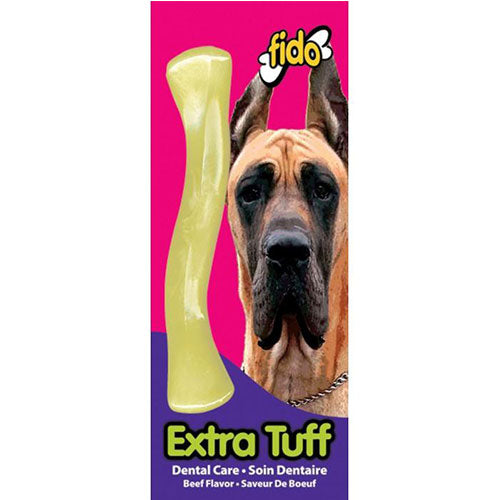 Fido Extra Tuff Bone Beef Chew Toy for Dogs | Singpet.Com