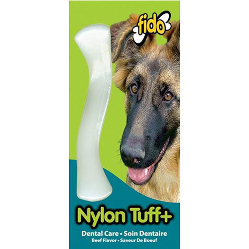 Fido Nylon Tuff+ Bone Beef Chew Toy for Dogs | Singpet.Com