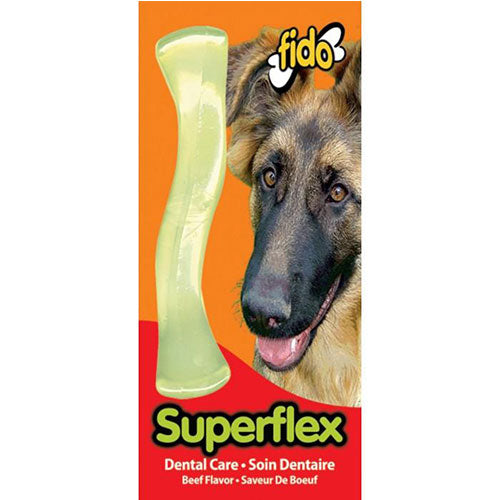Fido Superflex Bone Beef Chew Toy for Dogs | Singpet.Com