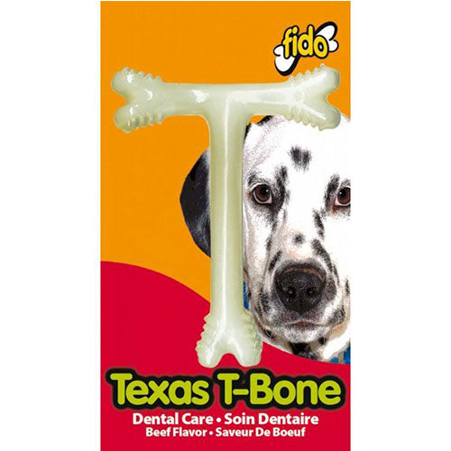 Fido Texas T-Bone Beef Chew Toy for Dogs | Singpet.Com