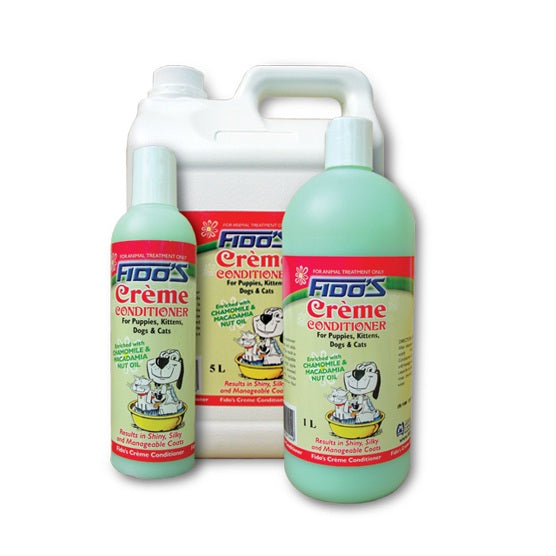 Fido's Creme Conditoner For Puppies, Kittens, Dogs & Cats
