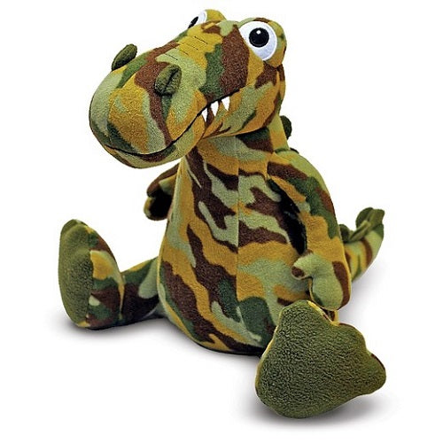 Melissa & Doug Wally Dinosaur Patterned Pal Stuffed Animal | Singpet.Com.Sg