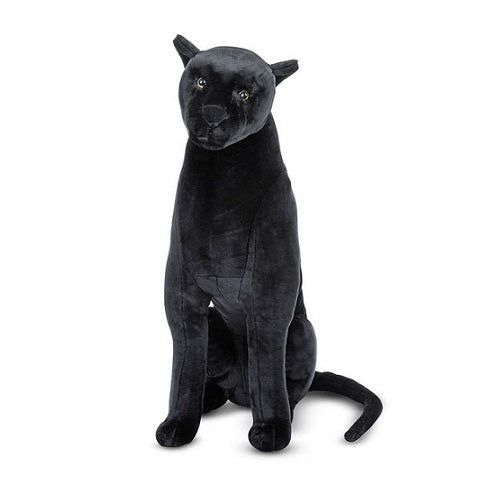 Melissa & Doug Lifelike Plush Panther Stuffed Animal Toy | Singpet.Com.Sg