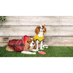 GF Pet Reversible Rain Jacket (Red) For Dogs