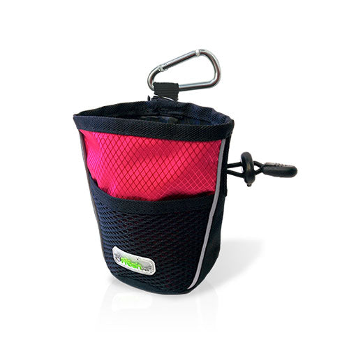 GF Pet Treat Bag (Pink) For Dogs | Singpet.Com