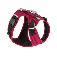 Gooby Pioneer Dog Harness, Red | Singpet.Com.Sg