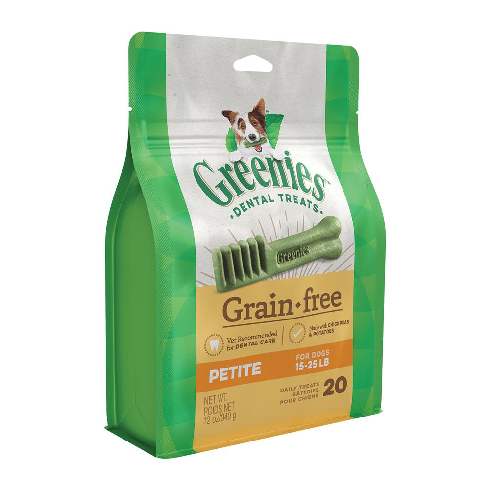 Greenies Grain-Free Petite Dog Dental Treats | Singpet.Com