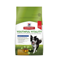 Hills Science Diet Youthful Vitality Adult Chicken & Rice Recipe Dry Dog Food | Singpet.Com