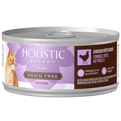 Holistic Select Grain Free Chicken Pate Canned Cat Food | Singpet.Com