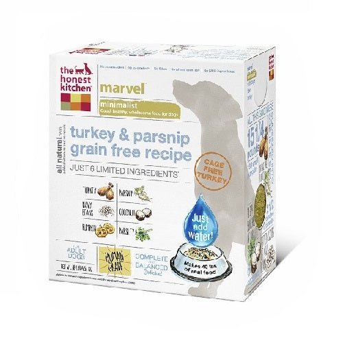 The Honest Kitchen Marvel Turkey & Parnsnip Grain-Free Dry Dog Food | Singpet.Com.Sg