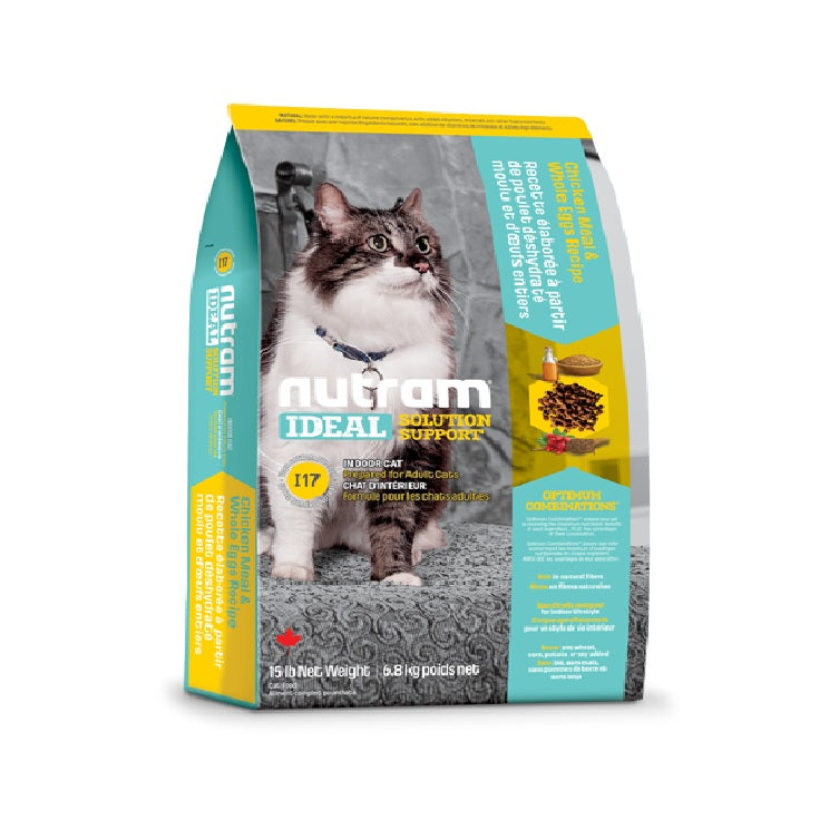 I17 Nutram Ideal Solution Support® Indoor Food For Cat | Singpet.Com