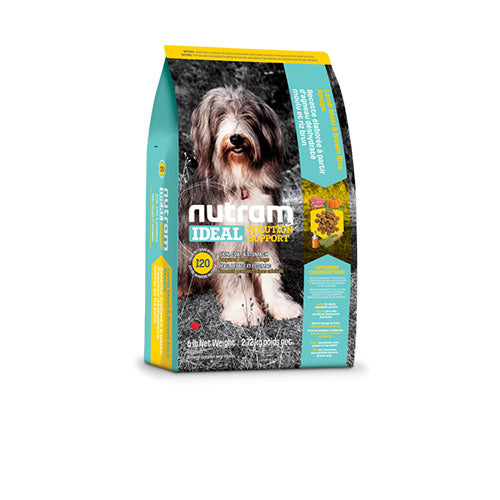 I20 Nutram Ideal Solution Support® Skin, Coat and Stomach Food For Dog - Lamb Meal & Brown Rice Recipe | Singpet.COM