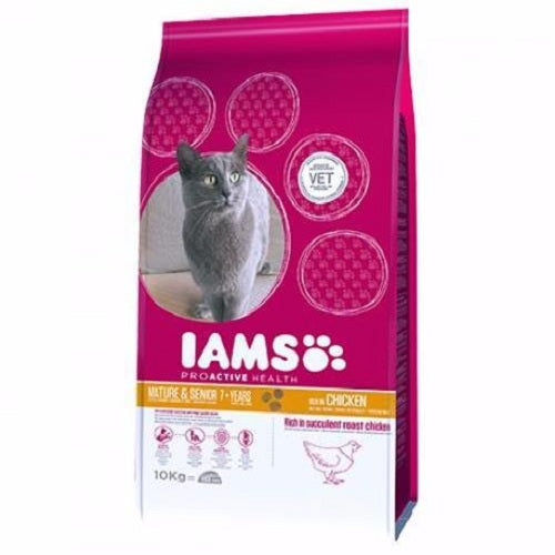 Iams Proactive Health Mature & Senior Rich In Succulent Roast Chicken | Singpet.COM