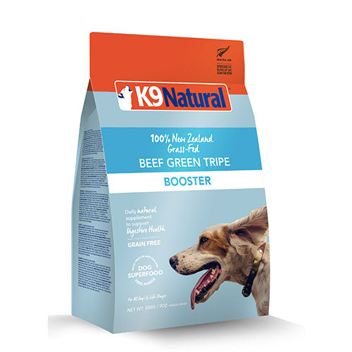 K9 Natural Freeze Dried Beef Green Tripe Feast Topper For Dogs | Singpet.Com