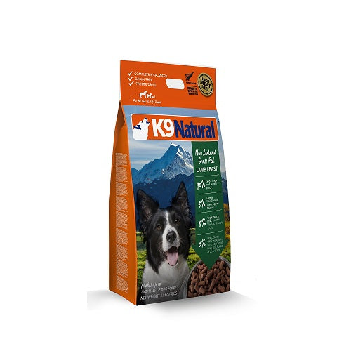 K9 Natural Lamb Feast Freeze Dried Dog Food, 1.8 kg | Singpet.Com