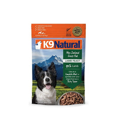K9 Natural Lamb Feast Freeze Dried Dog Food, 500 g | Singpet.Com