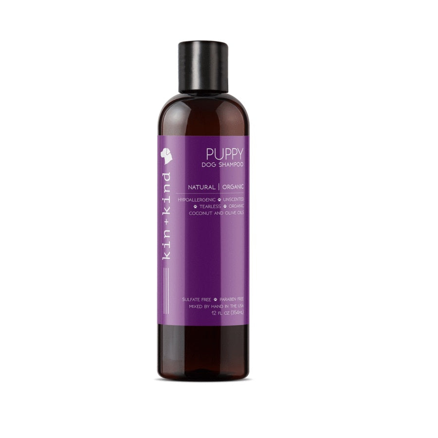 Kin+Kind Puppy Natural & Tearless Dog Shampoo | Singpet.Com