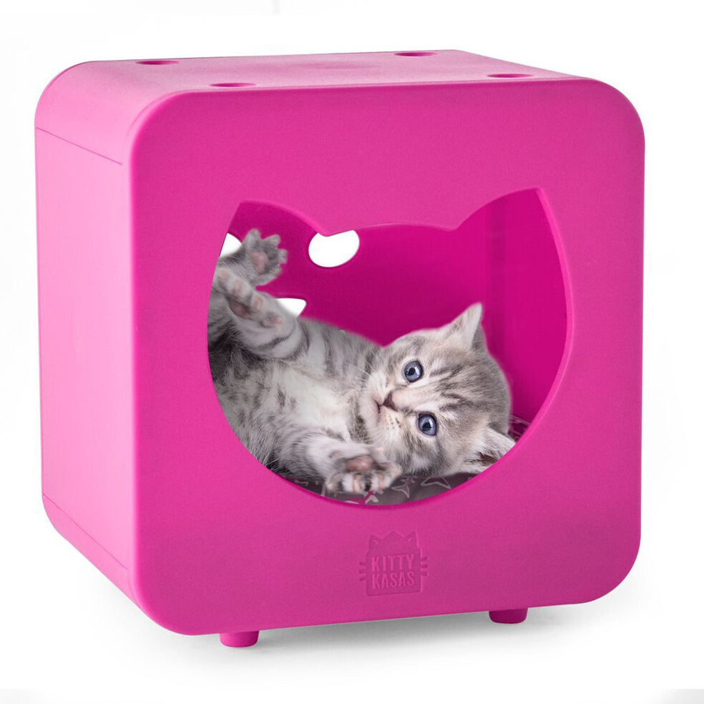 Kitty Kasa Cat Bedroom Cube | Singpet.Com.Sg
