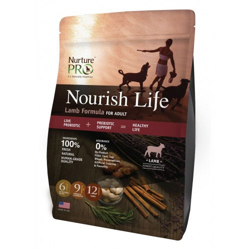 Nurture Pro Nourish Life Lamb Formula for Adult - Dry Dog Food