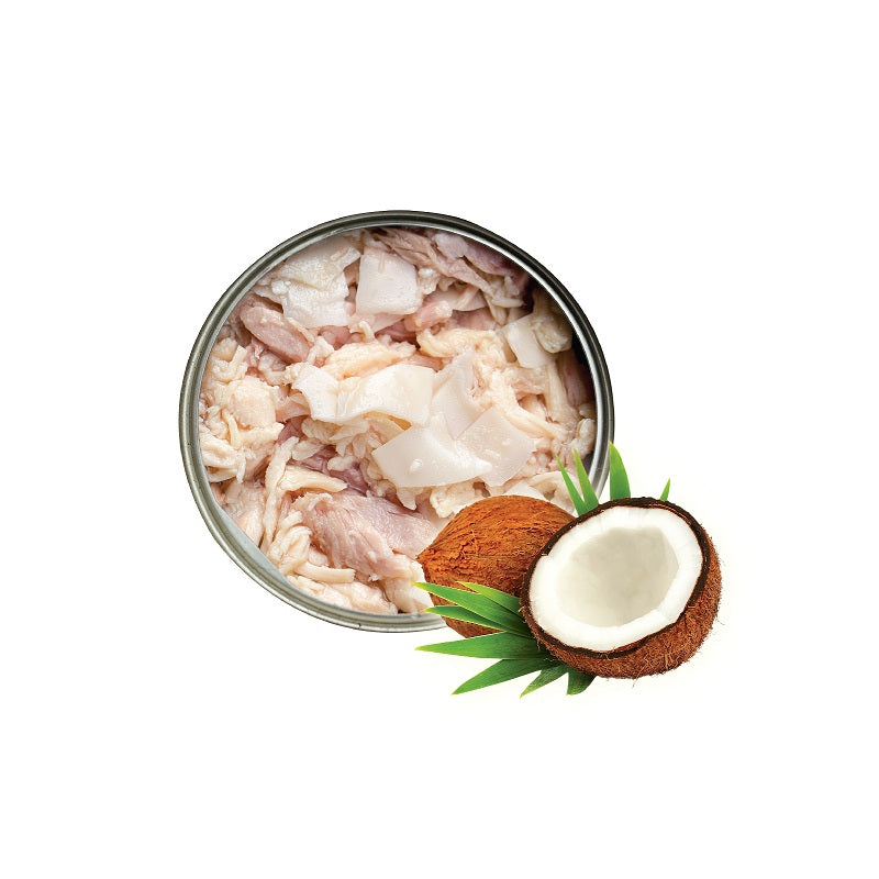 Nurture Pro Longevity Chicken & Skipjack Tuna Meat with Coconut Cat Canned Food