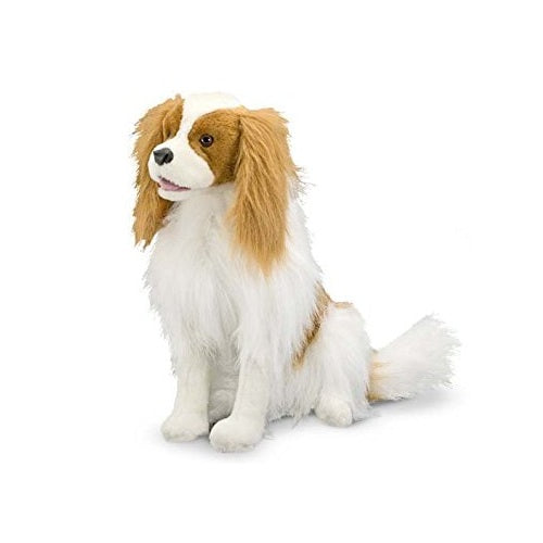 Melissa & Doug Cavalier King Charles Spaniel Dog Stuffed Animal Toy | Singpet.Com
