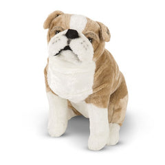 Melissa & Doug English Bulldog Dog Giant Stuffed Animal Toy | Singpet.Com