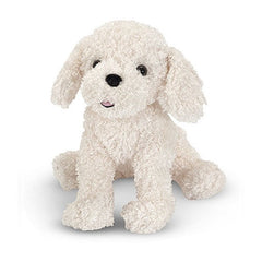 Melissa & Doug Fluffy Bichon Frise Puppy Dog Stuffed Animal Toy | Singpet.Com