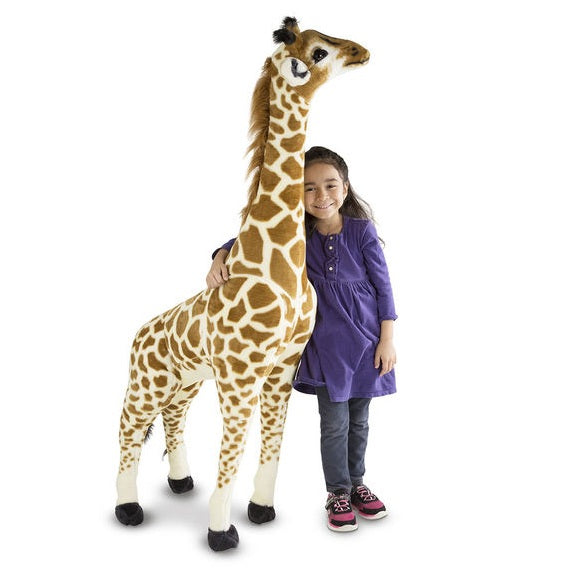 Melissa & Doug Giraffe Giant Stuffed Animal Toy | Singpet.Com