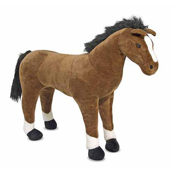 Melissa & Doug Horse Giant Stuffed Animal Toy