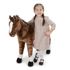 Melissa & Doug Horse Giant Stuffed Animal Toy | Singpet.Com