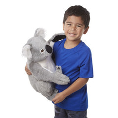 Melissa & Doug Lifelike Koala Stuffed Animal Toy | Singpet.Com
