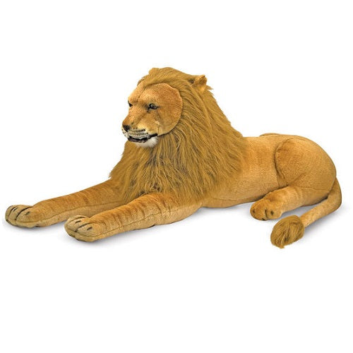 Melissa & Doug Lion Giant Stuffed Animal Toy