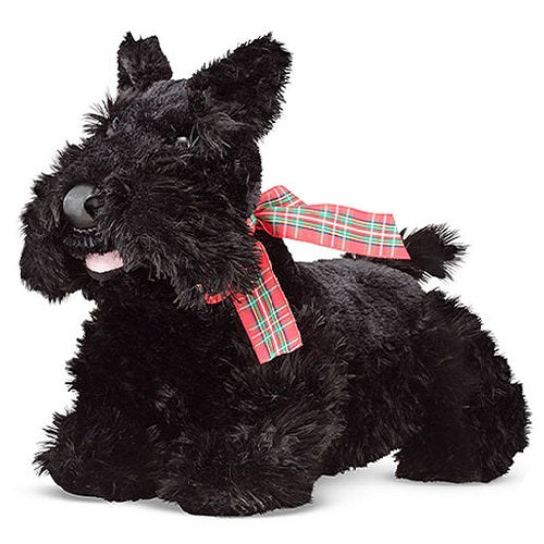 Melissa & Doug Maxwell Scottie Puppy Dog Stuffed Animal Toy | Singpet.Com