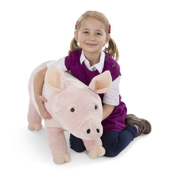Melissa & Doug Lifelike Pig Stuffed Animal Toy | Singpet.Com
