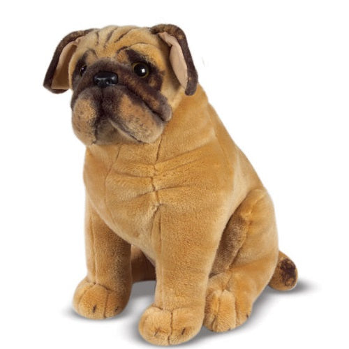 Melissa & Doug Pug Dog Stuffed Animal Toy | Singpet.Com