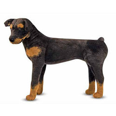Melissa & Doug Rottweiler Dog Giant Stuffed Animal Toy | Singpet.Com
