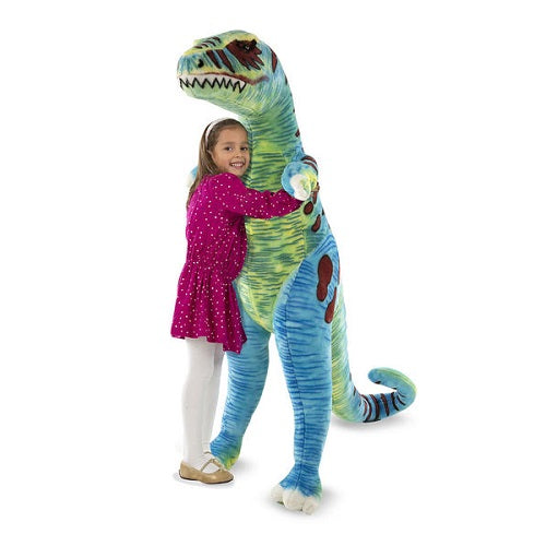 Melissa & Doug Lifelike Plush T-Rex Dog Stuffed Animal Toy | Singpet.Com